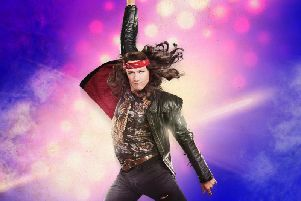 Kevin as Stacee Jaxx