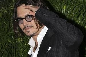 Lunch date ... Johnny Depp