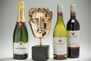 Some wonderful wines for the ceremony. Picture courtesy of BAFTA