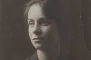 WES collection image of Caroline in 1919. Picture courtesy of the IET Archive