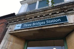 Three Bridges Station car park will be closed during rail work