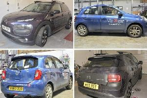 Police want to speak to anyone who may have seen these two cars in Brighton or Crawley between Saturday, February 16 and Monday, February 18