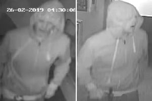 Police want to speak to this man in relation to the break-in at Sayers Common Community Shop. Picture: Sussex Police