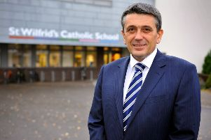 Michael Ferry, head of St Wilfrid's School, Crawley