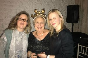 Rosemary Pavoni with her daughters Katie and Sarah