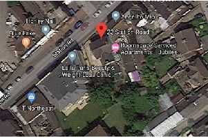 Land next to 22 Station Road, Horley,  is being sold. Picture: Google Maps