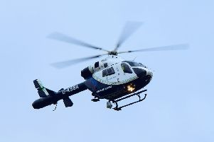 The air ambulance was called to the scene. Photo: Dan Jessup