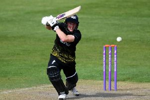 Miles Hammond of Gloucestershire (Photo by Alex Davidson/Getty Images) SUS-190505-182004002
