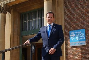 Nathan Elvery has been chief executive at West Sussex County Council since 2016