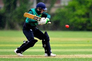 Three Bridges batsman Joe Walker in action. Pic: Steve Robards (SR1911491)