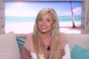 Amy Hart from Worthing is now the bookie's favourite to win Love Island 2019. Picture: ITV