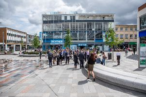 Investors spent a day touring Crawley to learn about its businesses and development opportunities