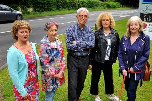 Jeremy Ashpool with other concerned Borde Hill Garden business owners
