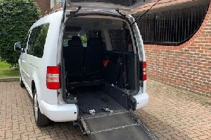 The firm has seven accessible taxis to cover Horsham and Crawley
