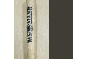 The baseball bat found. Picture: Crawley Police