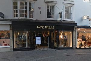 A Jack Wills store in Brighton. Picture via Google Streetview