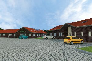 An image of how the facility will look