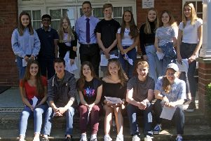 Lingfield College GCSE results day 2019