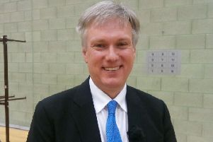 Henry Smith, MP for Crawley