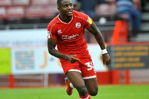 Crawley Town's Bez Lubala. Picture by Steve Robards