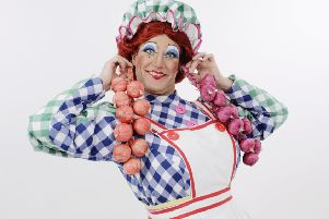 TJ Holmes will play the Dame in the Key Theatre panto Beauty and the Beast