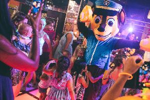 The Halloween Festival at the Guildhall in Portsmouth will feature characters including Chase from Paw Patrol.