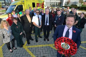 South East Coast Ambulance Service (SECAmb) is showing its support for the British Legion's Poppy Appeal by featuring a special design on its ambulances.