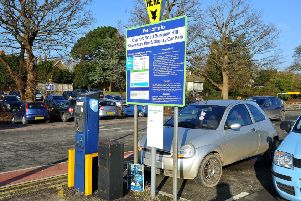 Cyprus Road Car Park in Burgess Hill. Picture: Steve Robards