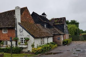 The aftermath of the fire at Ye Olde Six Bells pub back in May