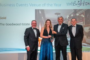The Goodwood Estate was awarded gold in the business events venue of the year category. Picture: Nick Williams
