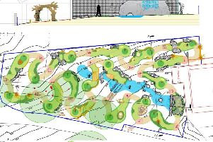 Adventure golf course proposed at Tilgate Forest Golf Centre