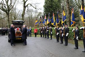 World War Two veteran Don Puttock's funeral