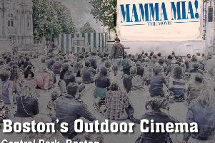 The outdoor cinema will be screening a double bill of Mama Mia and its sequel on one night