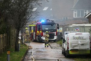 Fire at Haywards Heath college in Harlands Road
