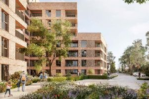 Artist's impressions for new flats on site of Longley House in Crawley