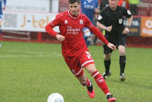 Crawley Town's Josh Doherty. Picture by Derek Martin
