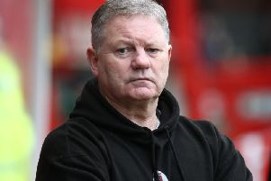 Crawley Town head coach John Yems. Picture by Getty Images
