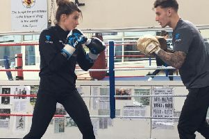Chantelle Cameron will be fighting in Leicester on Saturday