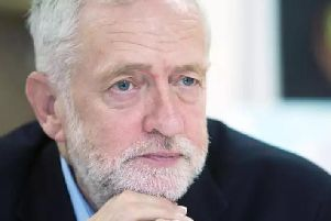 "Jeremy Corbyn told a Labour conference that Northamptonshire County Council was ""effectively bankrupt""."