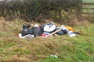 Northampton fly-tipper tracked down and fined after leaving post among rubbish dumped near Daventry