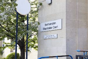Who's been sentenced at Northampton Magistrates' Court