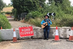 Stan the Man has written a song about the bridge closure