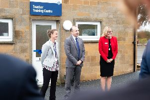 Daventry MP Chris Heaton-Harris unveiled the new centre last month