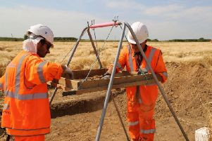Archaeologists have started work on Britain's largest ever dig