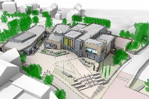 An updated artist's impression of the scheme, complete with new public square and restaurants
