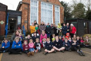 Parents and pupils at Great Creaton have been fighting the council's decision to close the school