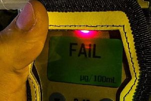 Six more people failed a breathalyser test between December 23-25