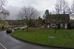 The incident took place in Woodsfield Brixworth.