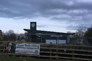 Starbucks is recruiting staff at the new site