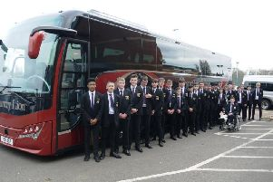 NSB's Under-15 team are on their way to Twickenham for Thursday's final